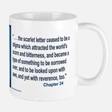 The Scarlet Letter Text Mugs