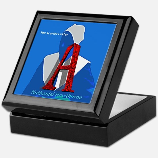 The Scarlet Letter Keepsake Box