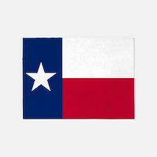 Texas: State Flag of Texas 5'x7'Area Rug