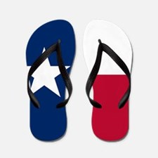 Texas: State Flag of Texas Flip Flops