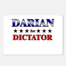 DARIAN for dictator Postcards (Package of 8)