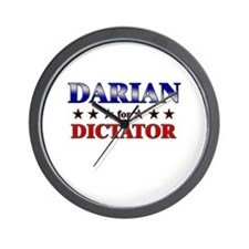 DARIAN for dictator Wall Clock