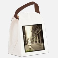 Leaves of Grass Canvas Lunch Bag