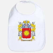 Esposito Coat of Arms - Family Crest Baby Bib
