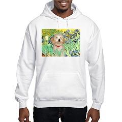 Irises / Havanese Hooded Sweatshirt