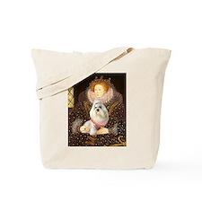 Queen / Havanese Tote Bag