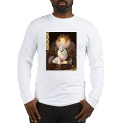 Queen / Havanese Long Sleeve T-Shirt