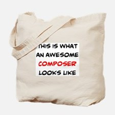 awesome composer Tote Bag