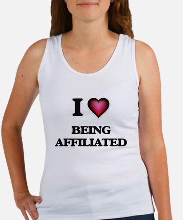 I Love Being Affiliated Tank Top