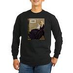 Whistler's / Havanese Long Sleeve Dark T-Shirt