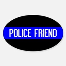 Police: Police Friend (The Thin Blu Decal