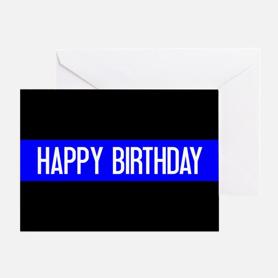 Police: Happy Birthday (The Thin Blu Greeting Card