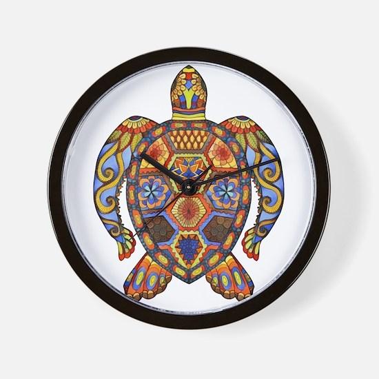 Each Turtle Art Wall Clock