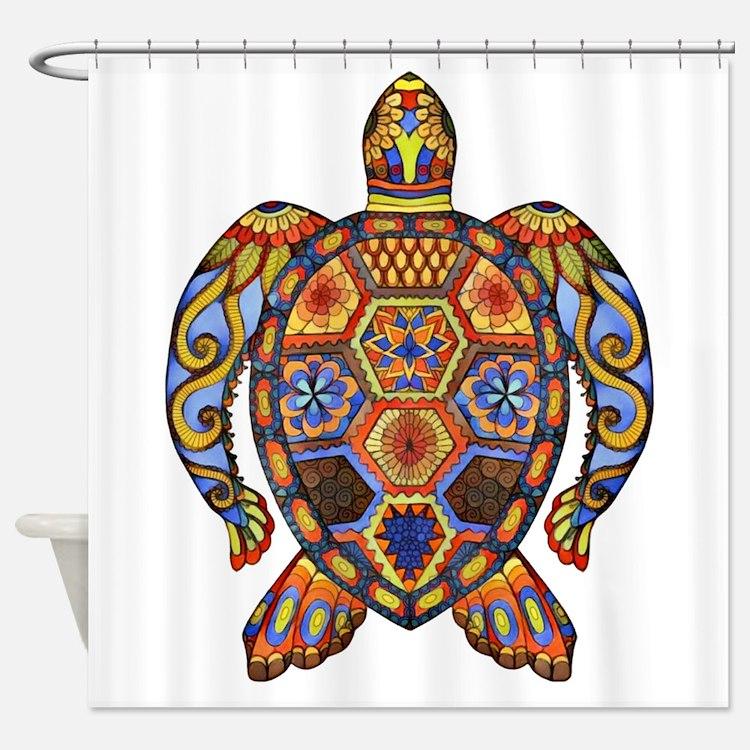 Each Turtle Art Shower Curtain