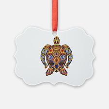 Each Turtle Art Ornament