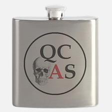 QCAS Logo Flask