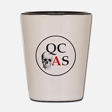 QCAS Logo Shot Glass