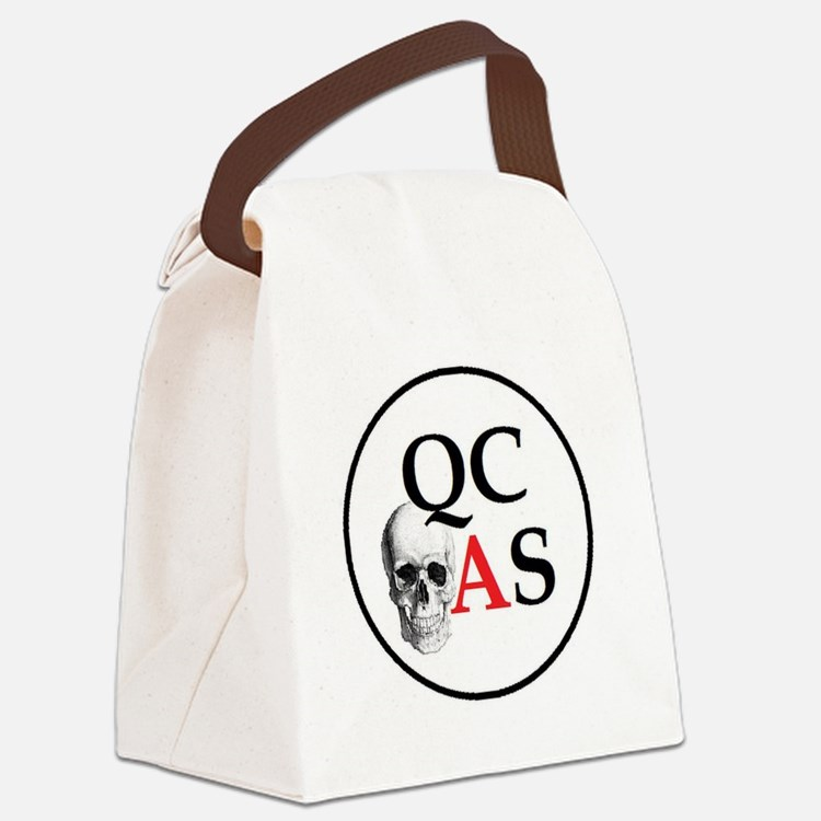 QCAS Logo Canvas Lunch Bag