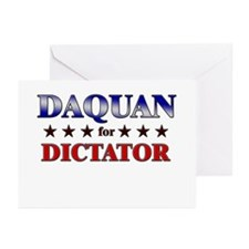 DAQUAN for dictator Greeting Cards (Pk of 10)