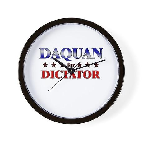 DAQUAN for dictator Wall Clock