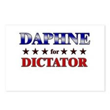 DAPHNE for dictator Postcards (Package of 8)