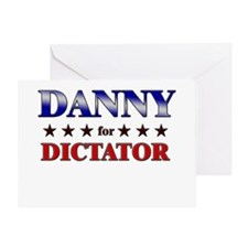 DANNY for dictator Greeting Card