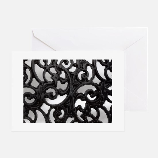 Through the Bench Art, Greeting Cards (Package of