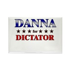 DANNA for dictator Rectangle Magnet