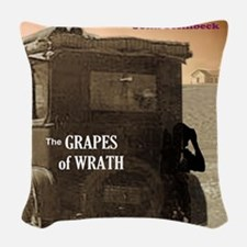 The Grapes of Wrath Woven Throw Pillow