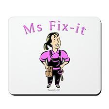 Ms Fix-it Mousepad