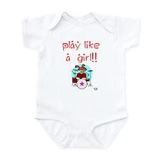 Girl Drummers Rock! Infant Bodysuit