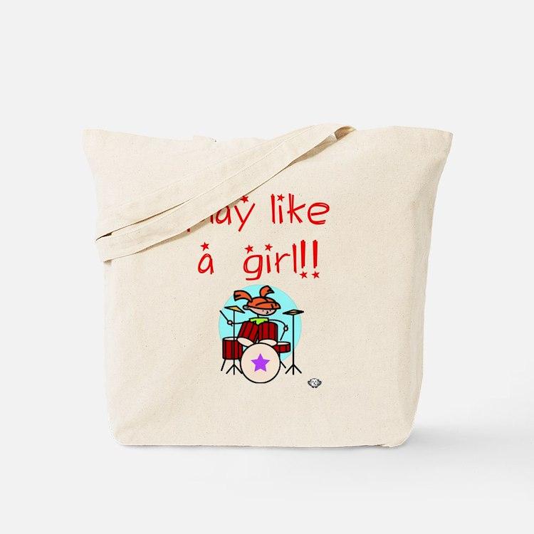 Girl Drummers Rock! Tote Bag