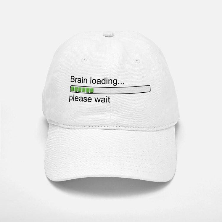 Brain loading, please wait Baseball Baseball Cap