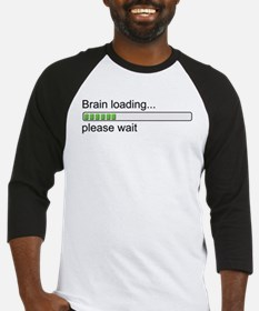 Brain loading, please wait Baseball Jersey