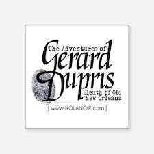 """""""Gerard Dupris"""" Official Logo Sticker"""