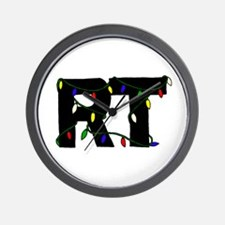 Respiratory Therapist Christm Wall Clock