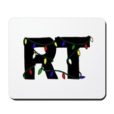 Respiratory Therapist Christm Mousepad