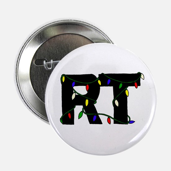"Respiratory Therapist Christm 2.25"" Button"