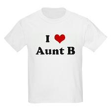 I Love Aunt B T-Shirt
