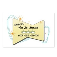 Instant Auto Glass Specialist Postcards (Package o