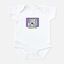 Anime White Puli Baby Bodysuit