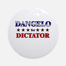 DANGELO for dictator Ornament (Round)