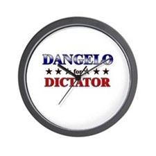 DANGELO for dictator Wall Clock