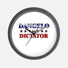 DANGELO for dictator Wall Clock