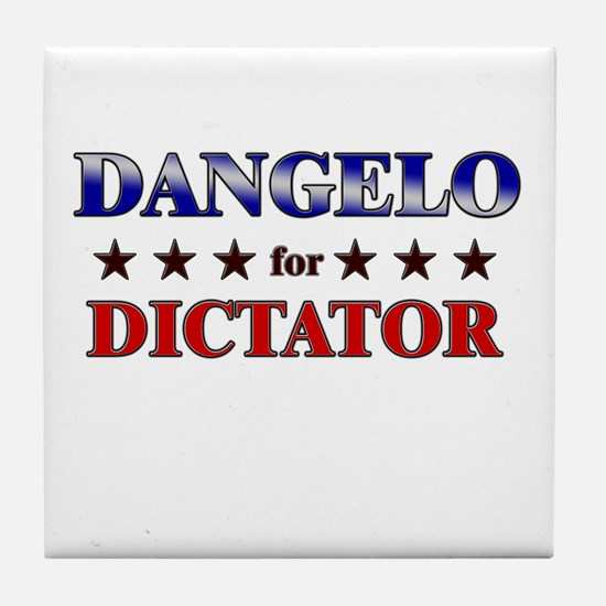 DANGELO for dictator Tile Coaster