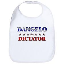 DANGELO for dictator Bib
