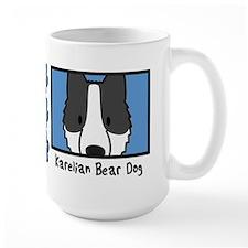 Anime Karelian Bear Dog Mug