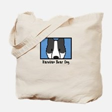 Anime Karelian Bear Dog Tote Bag