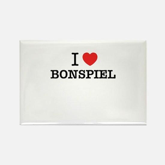 I Love BONSPIEL Magnets