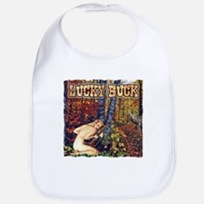 Lucky buck hunting T-shirts a Bib